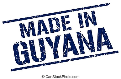 made in Guyana stamp