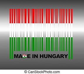 Made in Hungary. - Barcode Hungary.