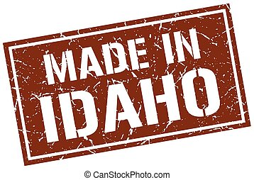 made in Idaho stamp