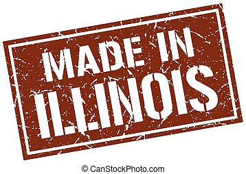 made in Illinois stamp
