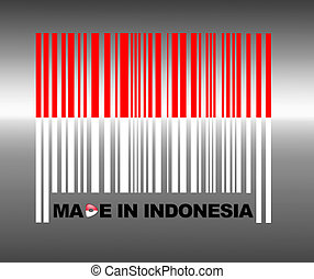 Made in Indonesia. - Barcode Indonesia.
