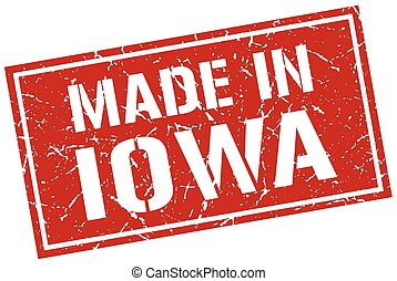 made in Iowa stamp