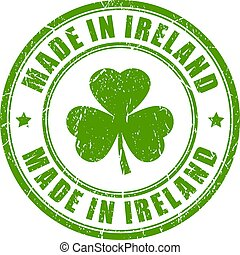 Made in Ireland stamp