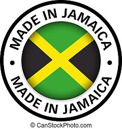 made in Jamaica flag icon