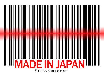 made in japan - bar code