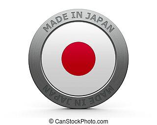 Made in Japan - Emblem - made in Japan, three-dimensional ...