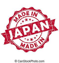 made in japan grunge seal