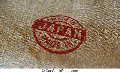 Made in Japan stamp and stamping - Made in Japan stamp ...