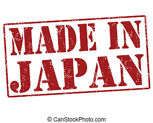 Made in Japan stamp - Made in Japan grunge rubber stamp on ...