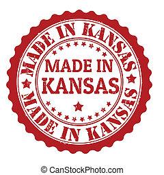 Made in Kansas stamp