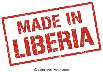 made in Liberia stamp