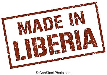 made in Liberia stamp
