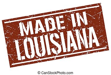 made in Louisiana stamp
