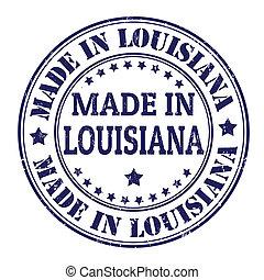 Made in Louisiana stamp - Made in Louisiana grunge rubber ...