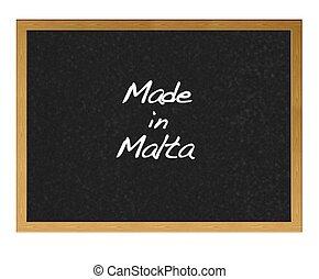 Made in Malta.