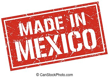 made in Mexico stamp