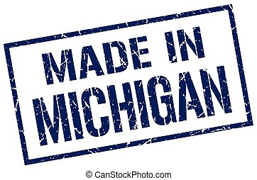 made in Michigan stamp