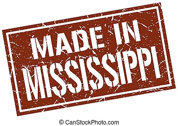 made in Mississippi stamp