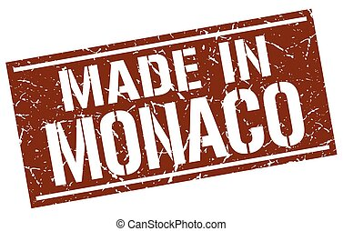 made in Monaco stamp