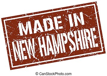 made in New Hampshire stamp