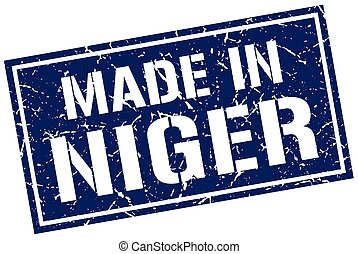 made in Niger stamp