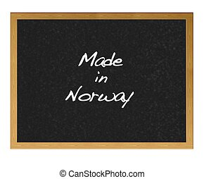 Made in Norway.