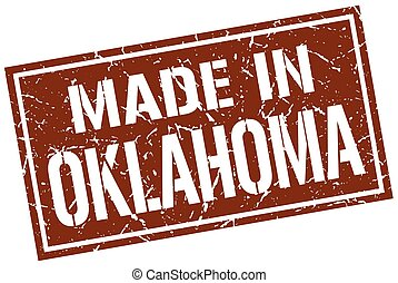 made in Oklahoma stamp