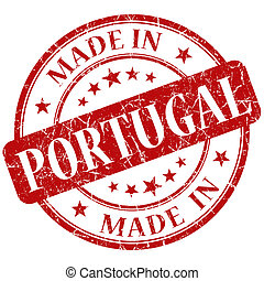 Made In Portugal red stamp