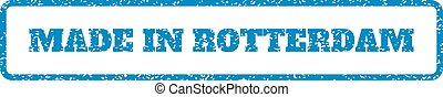 Made In Rotterdam Rubber Stamp