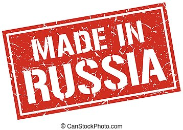 made in Russia stamp