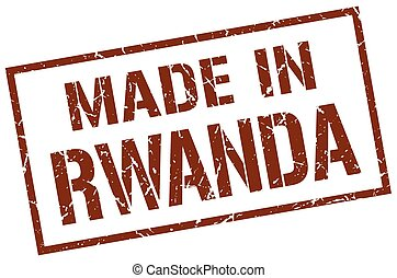 made in Rwanda stamp