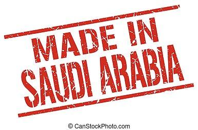 made in Saudi Arabia stamp