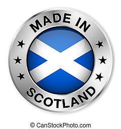 Made In Scotland Silver Badge - Made in Scotland silver ...