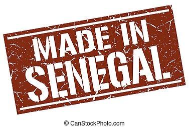 made in Senegal stamp