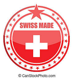 made in Switzerland seal design