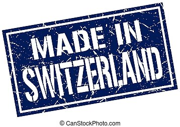 made in Switzerland stamp