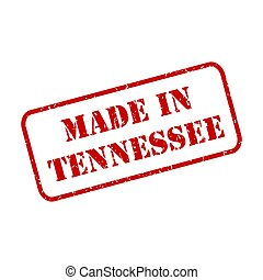 Made In Tennessee Stamp Vector