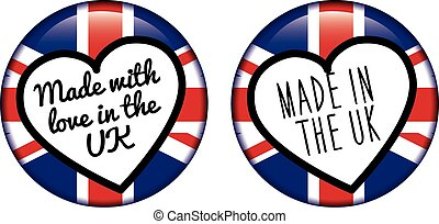 MADE IN THE UK logo badge
