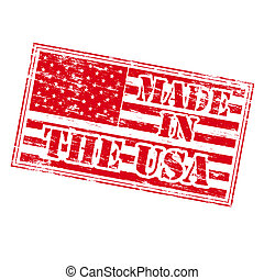 MADE IN THE USA Rubber Stamp