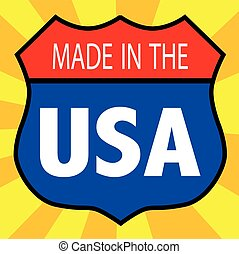 Made In The USA Shield