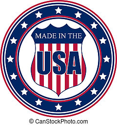 Made in the USA stamp