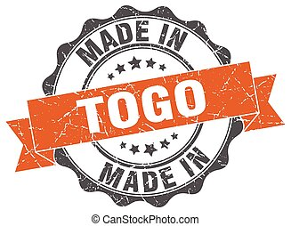 made in Togo round seal