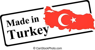 Made in Turkey stamp