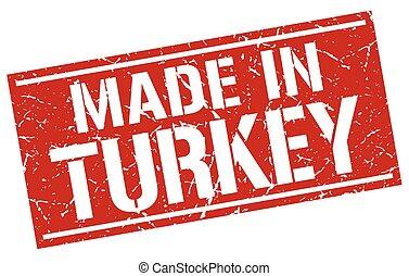 made in Turkey stamp