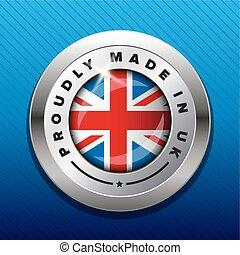 Made in UK badge