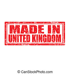Made in United Kingdom-stamp