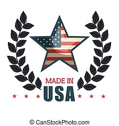 made in usa emblem icon
