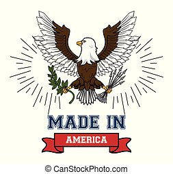 Made in USA emblem