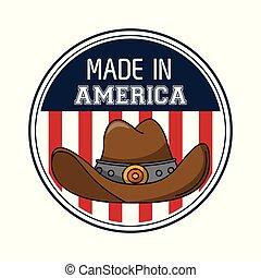 Made in USA emblem