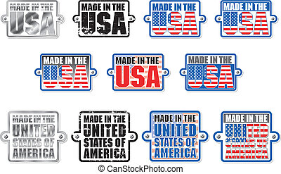Made in USA Plaque Graphic